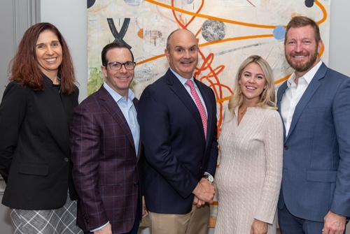 John's Island Foundation Sponsors Tracey Sorzano (PNC Wealth Management), Roger Lynch (Vero Insurance), John Moore (The Law Offices of John E. Moore III), Lyndall and Chris Hill (The Hill Group)