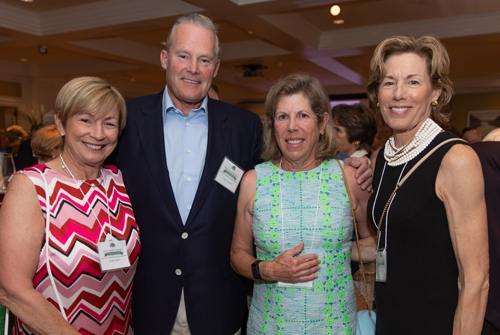 John's Island Foundation Sue Gibson, Peter Kendall, Hope Woodhouse, and Ellen Kendall
