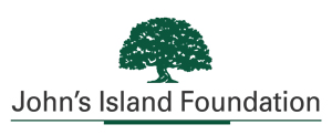 John's Island Foundation logo green oak tree above organization name
