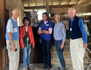 Special Equestrians of the Treasure Coast Bruce Gillespie, Anne Rhoads, Special Equestrians staff, Francie Cramb, John Hessian