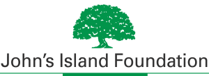 John's Island Foundation logo green Oak Tree over organization name