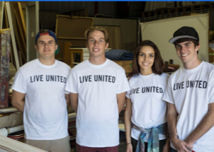 United Way of Indian County volunteers