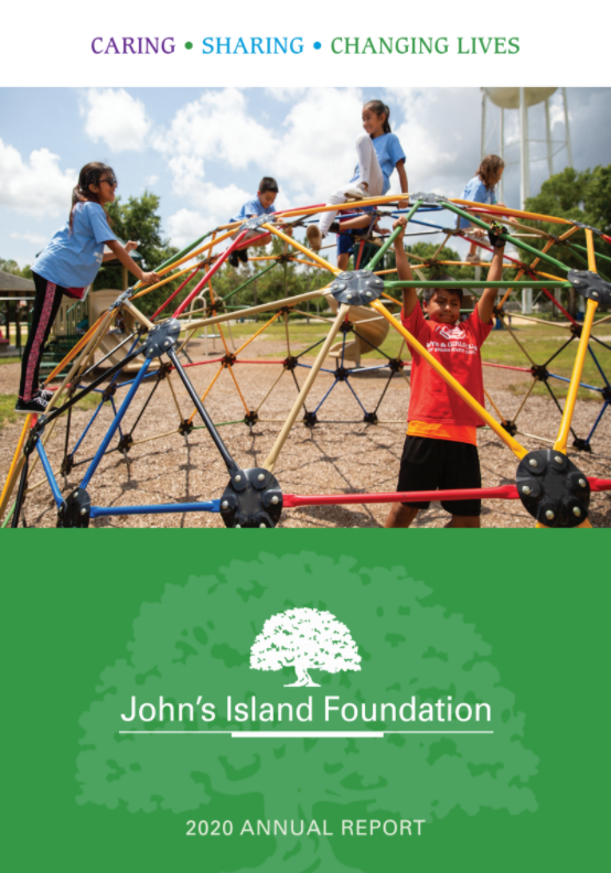 John's island foundation annual report cover